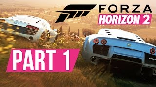 Forza Horizon 2 Gameplay Walkthrough Part 1 - PICKING MY FIRST CAR - Xbox Gameplay