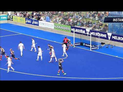 Australia 3 New Zealand .1 Final Mens hockey. Melbourne 2016