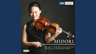 Violin Partita No.1 in B Minor, BWV 1002: IV. Double - Presto