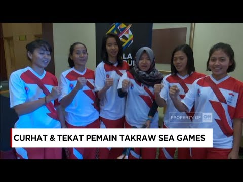 Bangga... Tekad & Optimis Tim Sepak Takraw Indonesia di SEA Games 2017 - Indonesia Luar Biasa