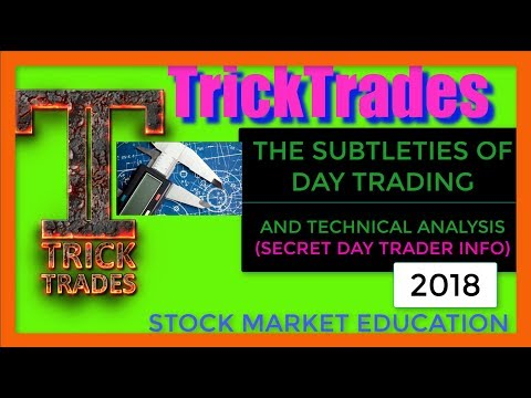 Day Trading Subtleties (How Do I Know The Stock Is Going Higher) 2018