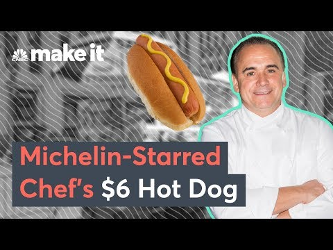 Michelin-Starred Jean-Georges' Hot Dog vs. A NYC Street Cart