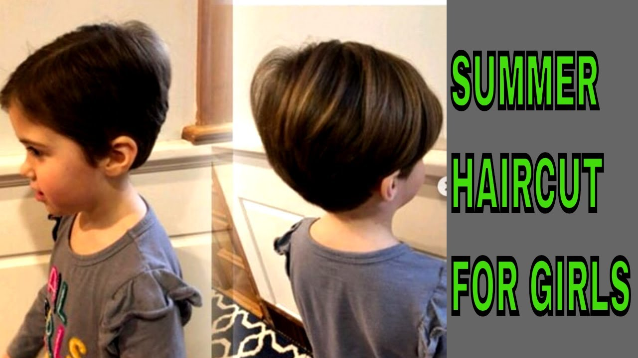 SUMMER SPECIAL HAIR CUT FOR GIRLS 😍😍👌😍😎 - YouTube