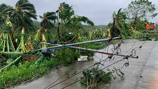 Typhoon Molave lashes the Philippines