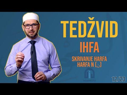 TEDŽVID: IHFA - SKRIVANJE HARFA N (ن)