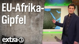 Christian Ehring: EU-Afrika-Gipfel