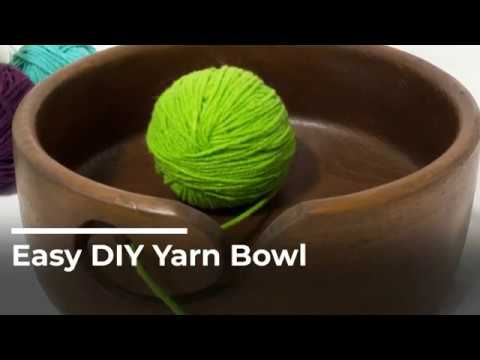 Make this easy DIY Yarn Bowl