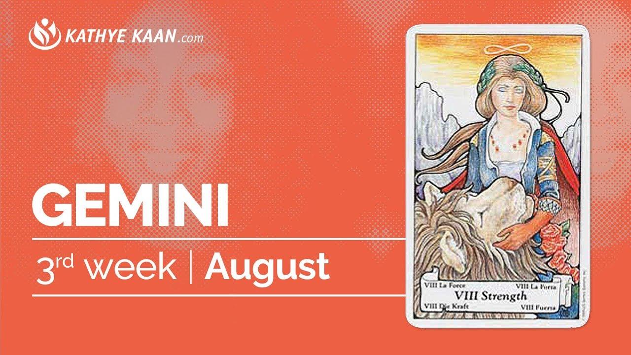 Gemini ♊️ Weekly Reading August 12-18