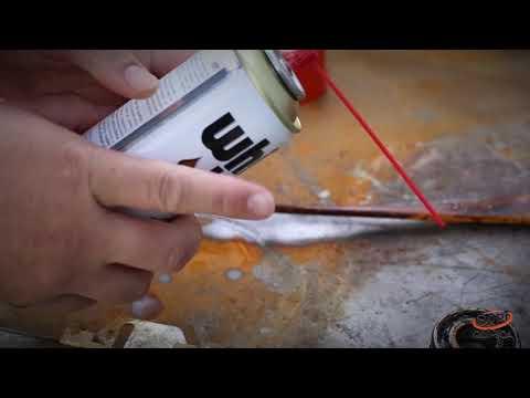 Como Usar o Óleo Desengripante Aerosol White Lub - A Mega Loja