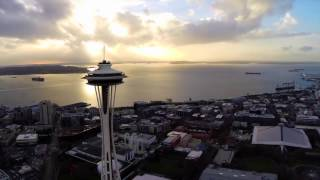 ABOVE Seattle: Drone captures Seattle as you