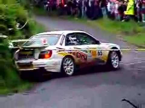 Subaru S11 Crash in Donegal International Rally 2007