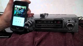 1966 C10 Chevy Pickup Truck original AM radio