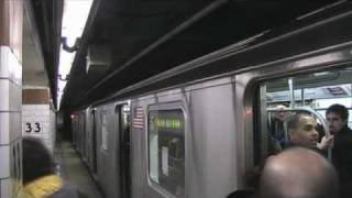 MTA 6 Local Train 33rd street - Grand Central Station NYC