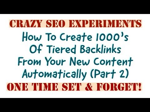 Crazy SEO: The Power Of RSS SEO Automation Part 2