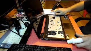 Ремонт гнезда разъема питания ноутбука Asus x53u(Ремонт гнезда разъема питания ноутбука Asus x53u Зарядка работает с перебоями? Ноутбук перестал заряжаться?..., 2016-04-01T23:41:11.000Z)