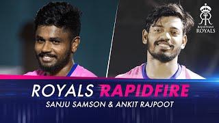 Royals Rapidfire with Sanju Samson & Ankit Rajpoot