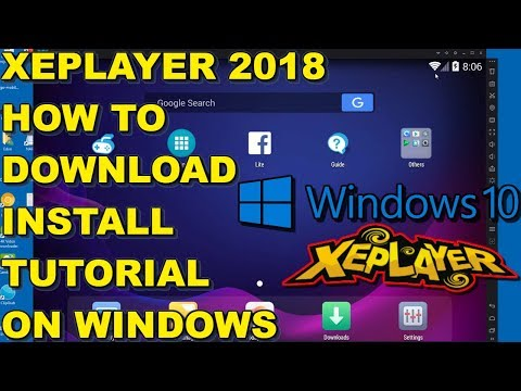 XePlayer 2018 Android Emulator - How To Download And Install On Windows Tutorial