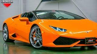 2016 Lamborghini Huracan LP610 4 Spyder #a05440 @MVLleasing.com - Toronto Exotics