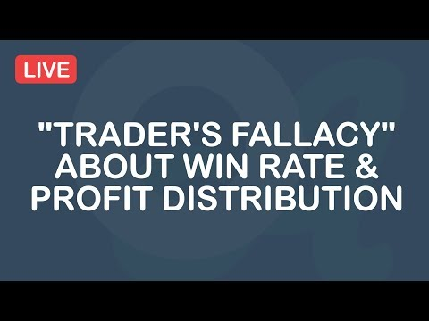 """Trader's Fallacy"" About Win Rate & Profit Distribution"