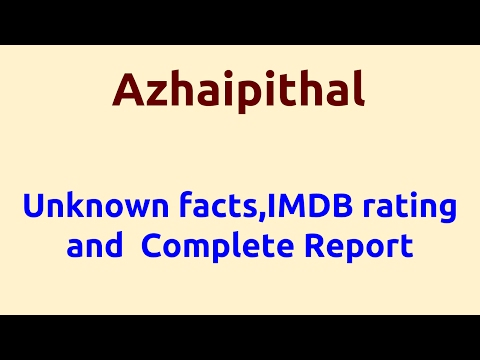 Azhaipithal |2008 Movie |IMDB Rating |Review | Complete Report | Story | Cast