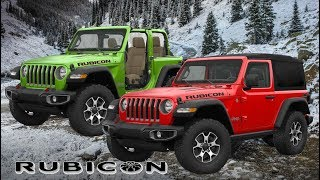 All-New Jeep Wrangler Rubicon (2019) 2-Door Color Options