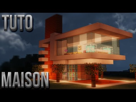 TUTO BELLE MAISON MODERNE | Minecraft