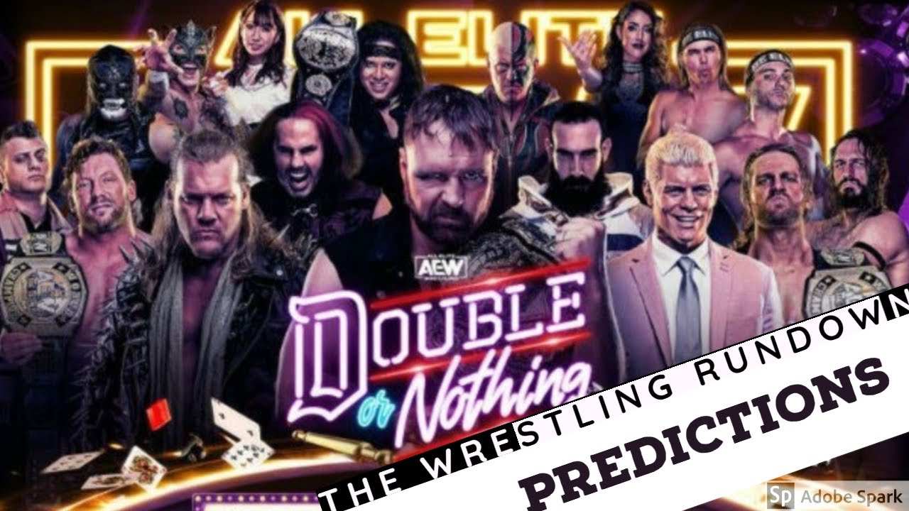 AEW Double Or Nothing Predictions