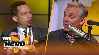 Download Chris Broussard: Bucks 'have to go through growing pains,' talks KD & Kawhi FA | NBA | THE HERD Mp3 and Videos