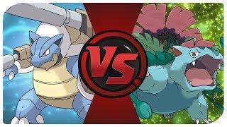Mega Blastoise vs. Mega Venusaur (TCG Time - Pokemon Pack Battle)