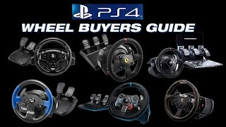 Playstation 4 Racing Wheel Buyers Guide by Inside Sim Racing(http://www.ISRTV.com presents our 2015 Playstation 4 wheel buyers guide. This guide contains 6 different wheels to choose from. Four from Thrustmaster, T80, ..., 2015-12-02T08:10:45.000Z)