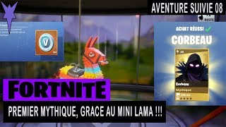 FORTNITE - Save THE WORLD - FIRST MYTHICAL GRACE AT MINI LAMA !!!