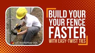 Easy Twist Fence Ties