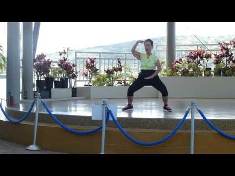 S-T-R-E-T-C-H  Luk Tung Kuen Chinese Exercise everydaytaichi lucy chun Honolulu, Hawaii