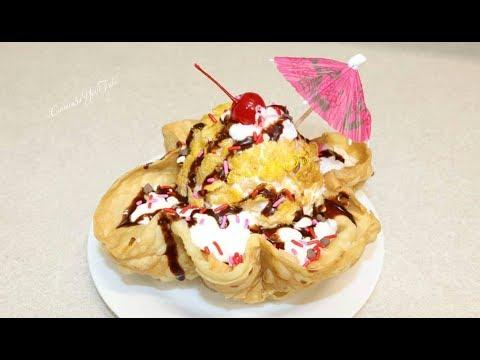 Nieve Frita para Negocio Estilo Restaurant