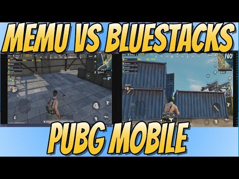 BlueStacks vs MEMU PUBG MOBILE Benchmark Test | Which Android Emulator Is Going To Win!