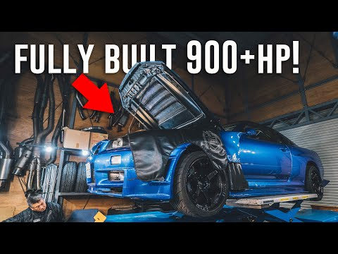 Finding The PERFECT R34 Skyline GTR in Japan! *900+hp*