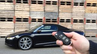 mods4cars SmartTOP for Audi R8 Spyder - One-Touch Top open / close / Remote / while driving