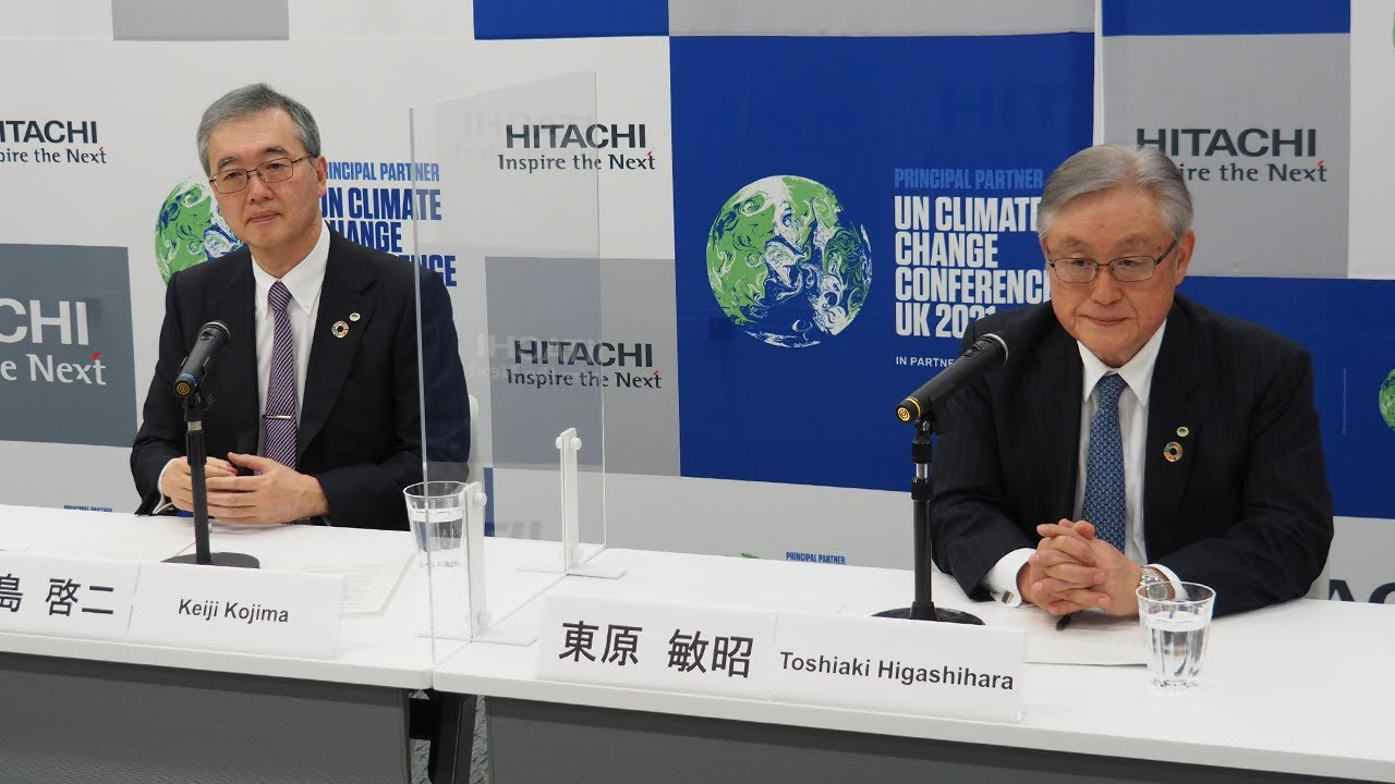 Download Web Conference on Changes of Top Managements - Hitachi