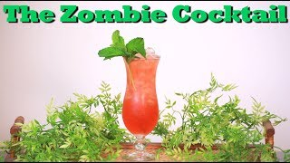 How To Make A Zombie Cocktail | Drinks Made Easy