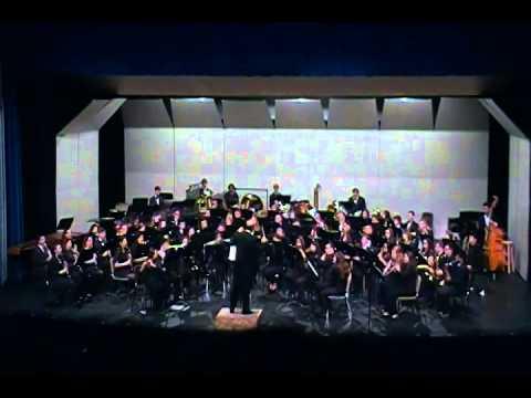 Hofstra University Symphonic Band Winter 2014 Part 3/7