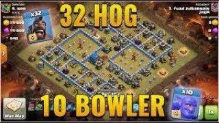 Bowler + Hog Rider + PEKKA TH12 3 Star Attacks Before Update TH13 Clash of Clans