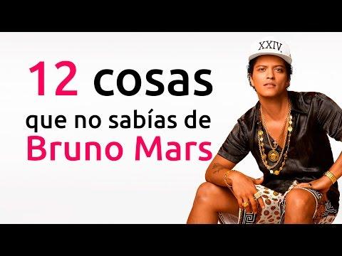 12 cosas que no sabías de Bruno Mars