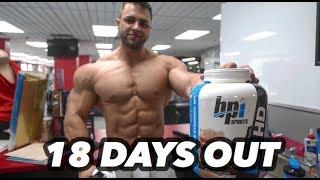 Bodybuilding motivation - regan grimes 18 days out