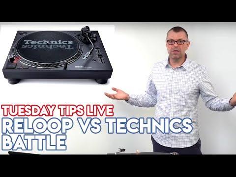 Technics SL-1200 MK7 vs Reloop RP-8000 MK2 - #TuesdayTipsLive - Online DJ School Mp3
