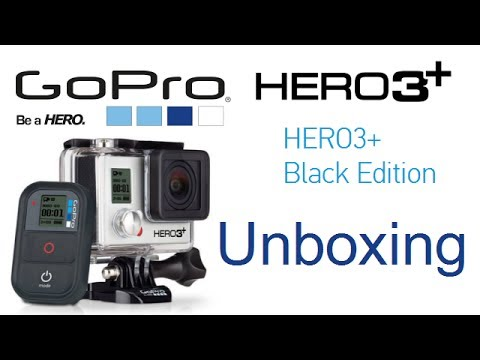 gopro hero 3 3 plus black edition unboxing box contents explained hands on review youtube. Black Bedroom Furniture Sets. Home Design Ideas