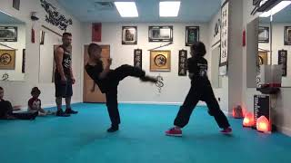 Kung Fu Kids Safe Sparring - June 22 2018