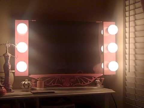 Vanity Girl Hollywood Mirror - YouTube