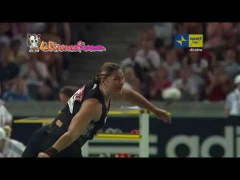 Mondiali Atletica Berlino 2009: Finale lancio del peso Donne