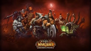 "Warcraft 3 Human ""Blackrock & Roll"" remake (Warlords of Draenor login theme)"