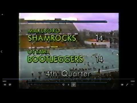 Marlboro Shamrocks at Ottawa Bootleggers 1990